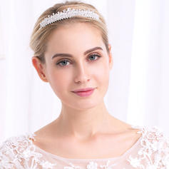 "Tiaras Wedding/Special Occasion/Party Alloy 5.12""(Approx.13cm) 0.98""(Approx.2.5cm) Headpieces"