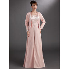 A-Line/Princess Sweetheart Floor-Length Mother of the Bride Dresses With Beading