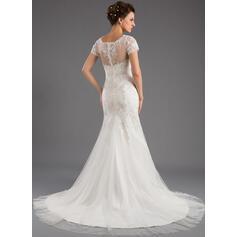 robes de mariée d'hiver fourrure