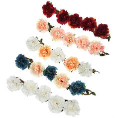 Headdress Flower Party/Casual Hide Rope The color of embellishments are shown as picture/Color & Style representation may vary by monitor Pretty Wedding Flowers