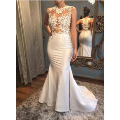 vintage style beach wedding dresses