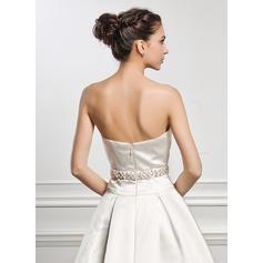 plus størrelse korsett brudekjoler