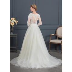 robes de mariée sirène bling