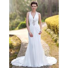 silver wedding dresses plus size