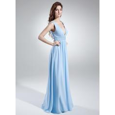 vestidos de dama de honor azules grises