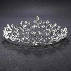 Tiaras Wedding Alloy Elegant (Sold in single piece) Headpieces