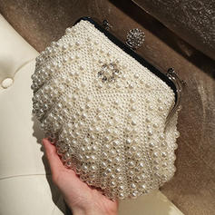 "Clutches/Satchel/Totes Ceremony & Party Imitation Pearl Elegant 11.02""(Approx.28cm) Clutches & Evening Bags"