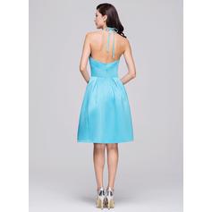 light pink bridesmaid dresses short