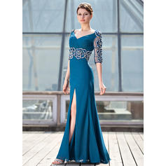 blue mother of the bride dresses plus size