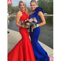 vestidos de noche rojos para mujeres