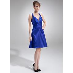 black knee length cocktail dresses for women