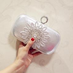 Clutches Wedding/Ceremony & Party PU Magnetic Closure Elegant Clutches & Evening Bags