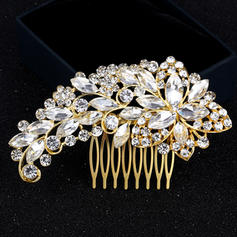 "Combs & Barrettes Alloy 4.33""(Approx.11cm) 2.56""(Approx.6.5cm) Rhinestone Headpieces"