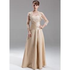 kjæreste Gulvlengde Taft Fantastisk Brudepikekjoler (007197349)