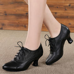 Women's Swing Real Leather Dance Shoes