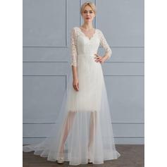 boêmio vestidos de noiva chiffon