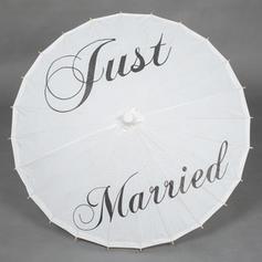Parasoles de boda Sombrillas Nupciales De mujer Boda Mango recto Parasoles de boda