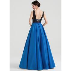 plus size satin evening dresses