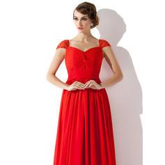 v-neck evening dresses