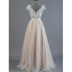 boat neck wedding dresses for women
