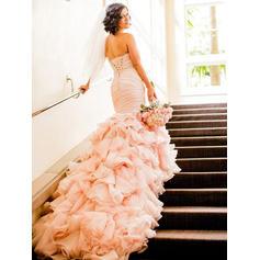 halter toppbröllopsklänningar