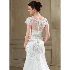 sexy vestidos de novia de encaje