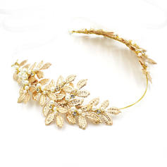 "Tiaras Wedding/Special Occasion Alloy/Imitation Pearls 16.93""(Approx.43cm) 2.76""(Approx.7cm) Headpieces"