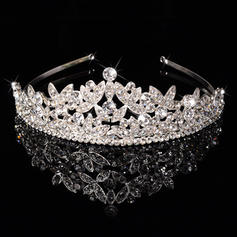 "Tiaras Wedding/Special Occasion/Party Rhinestone/Alloy 1.97""(Approx.5cm) 6.3""(Approx.16cm) Headpieces"