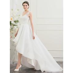 knee length wedding dresses plus size