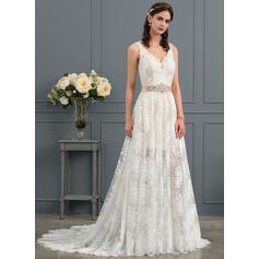 robes de mariée en dentelle bon marché