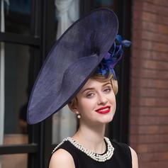 Señoras' Elegante Hilado de la red Bombín / cloché Sombrero
