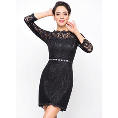 white lace cocktail dresses cheap