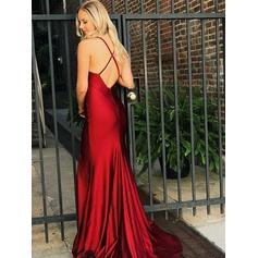 velvet long sleeve prom dresses