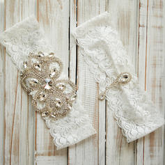 Garters Women/Bridal/Lady Wedding/Casual/Daily Wear Lace With Rhinestone Garter