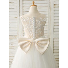 white flower girl dresses size 10