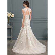 alla silke långärmade bröllopsklänningar