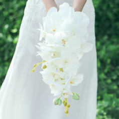 "Bridal Bouquets Cascade Wedding Artificial Silk 9.84""(Approx.25cm) Wedding Flowers"