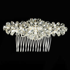 """Combs & Barrettes Wedding/Special Occasion Alloy/Imitation Pearls 3.94""""(Approx.10cm) 1.97""""(Approx.5cm) Headpieces"""