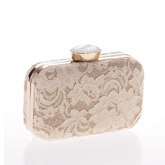 Clutches Ceremony & Party Alloy Magnetic Closure Elegant Clutches & Evening Bags