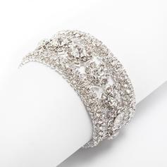 """Bracelets Alloy Rhinestone Ladies' 9.06""""(Approx.23cm) Wedding & Party Jewelry"""