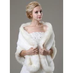 Wrap Fashion Faux Fur Other Colors Wraps