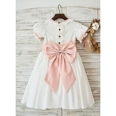 flower girl dresses short length