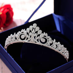 "Tiaras Wedding/Special Occasion/Casual/Outdoor/Party/Carnival/Art photography Zircon 5.51""(Approx.14cm) Beautiful Headpieces"