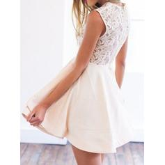 petite white cocktail dresses