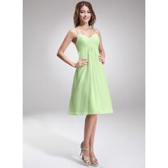 ballerina length bridesmaid dresses
