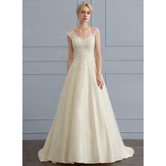 vestidos de noiva bege
