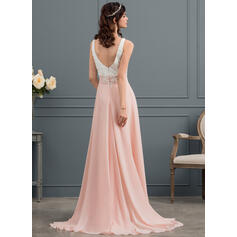 tea length ivory lace wedding dresses