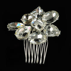 """Combs & Barrettes Wedding/Special Occasion Alloy 2.17""""(Approx.5.5cm) 1.97""""(Approx.5cm) Headpieces"""