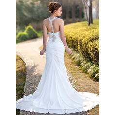 silver wedding dresses with long sleeves