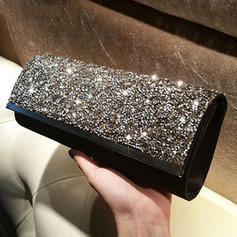 "Clutches Wedding/Ceremony & Party Crystal/ Rhinestone Elegant 9.45""(Approx.24cm) Clutches & Evening Bags"